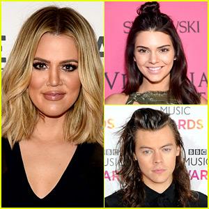 Khloe Kardashian Thinks Kendall Jenner is Dating Harry Styles