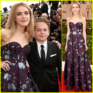 Kiernan Shipka Shows Off Her Fashionista Side at SAG Awards 2016!