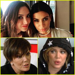 Kim & Khloe Kardashian Talk Genetic Testing Benefits with Megan Pormer on 'Keeping Up with the Kardashians'
