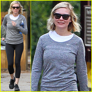 Kirsten Dunst Enjoys A Leisurely Stroll with Gal Pals