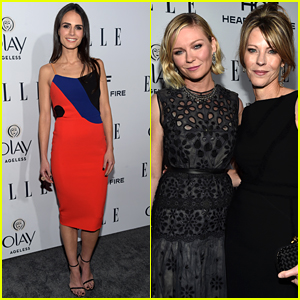 Kirsten Dunst is All Smiles at Elle's Women in Television Dinner