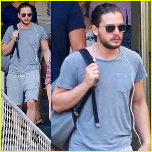 Kit Harington Visits Sugarloaf Mountain During Brazil Guy's Trip!