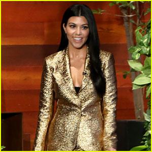 Kourtney Kardashian Tells Ellen That Scott Disick is Still Family