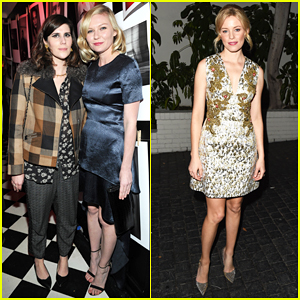 Kirsten Dunst Kicks Off Golden Globes Weekend at Dom Perignon/W Mag Party!