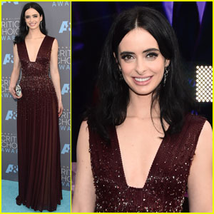 Krysten Ritter Hits Up Critics' Choice Awards 2016 After 'Jessica Jones' Renewal