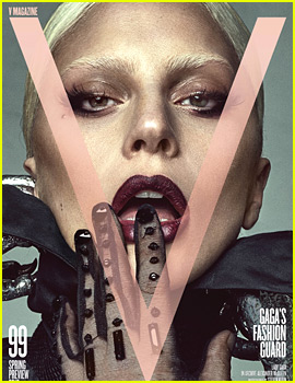 Lady Gaga Guest Edits 'V' Magazine - See the Covers!