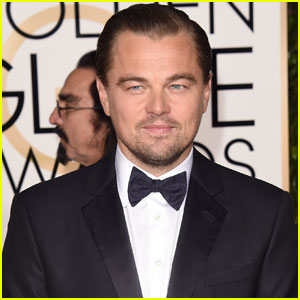 Leonardo DiCaprio Makes His Big Golden Globes 2016 Arrival