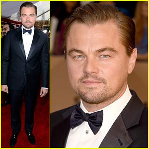 Leonardo DiCaprio Is Ready for a Big Night at SAG Awards 2016