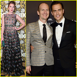 Lily Rabe, Cheyenne Jackson & 'AHS' Cast Live It Up at Golden Globes 2016 After Parties!