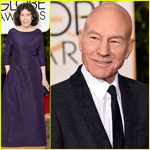 Lily Tomlin Keeps It Classy for Double-Nomination Night at the Golden Globes 2016!