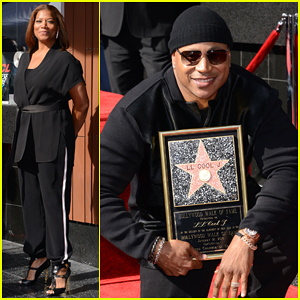 LL Cool J Gets Honored With Star On The Hollywood Walk Of Fame!