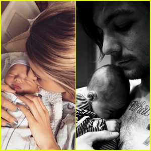 Louis Tomlinson & Briana Jungwirth Debut Son Freddie Reign's First Photos!