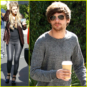 Louis Tomlinson & Briana Jungwirth Run Separate Errands After Freddie's Birth
