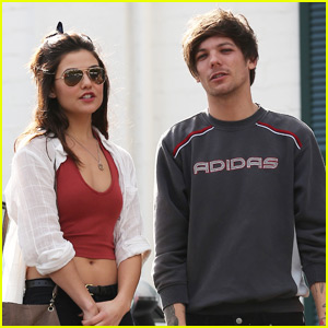 Louis Tomlinson & Rumored Girlfriend Danielle Campbell Grab Groceries Together!