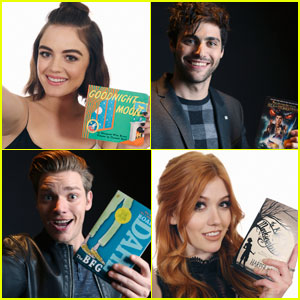 'Pretty Little Liars' & 'Shadowhunters' Stars Share 'Shelfies' Showing Off Their Favorite Books! (Exclusive)