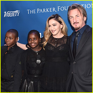 Madonna & Her Kids Support Ex Sean Penn at Help Haiti Home Gala!