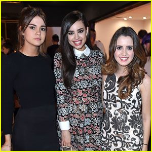 Maia Mitchell, Sofia Carson, & Laura Marano Are Disney 'Darlings' at Just Jared Jr.'s Dinner!
