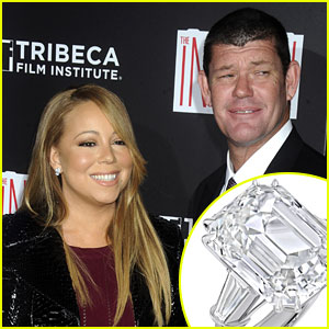 Mariah Careys Engagement Ring is Worth 75 Million Photos