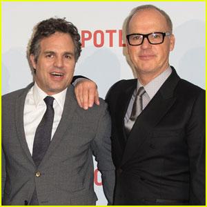 Mark Ruffalo & Michael Keaton Bring 'Spotlight' to London
