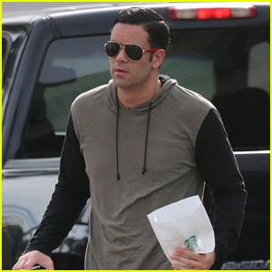 Mark Salling Emerges at Starbucks Amid Child Pornography Accusations