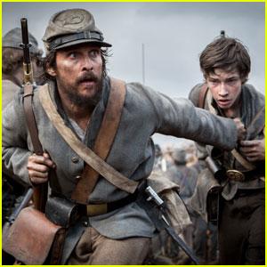 Matthew McConaughey Stars in First 'Free State of Jones' Civil War Drama Trailer - Watch Now!