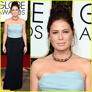 Maura Tierney Wins Best Supporting Actress in a Series at Golden Globes 2016!