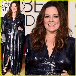 Melissa McCarthy Wears Her Own Design to Golden Globes 2016