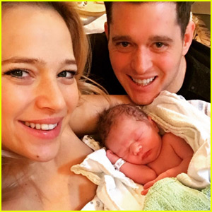 Michael Buble's Wife Luisana Lopilato Gives Birth to Their Second Child