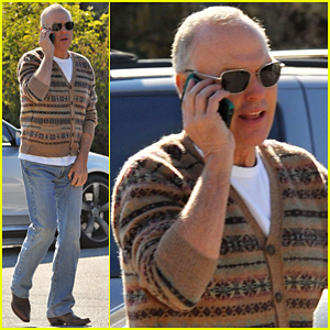 Michael Keaton Says 'The Coldest I've Ever Been In A Movie Is In 'Spotlight'!