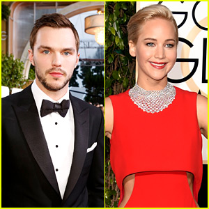 Nicholas Hoult Chatted with Ex Jennifer Lawrence at Golden Globes 2016