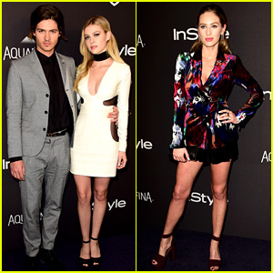 Nicola Peltz & Dylan Penn Glam Up for InStyle's Golden Globes 2016 After Party