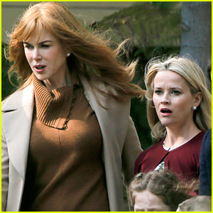 Nicole Kidman & Reese Witherspoon Continue Filming 'Big Little Lies'