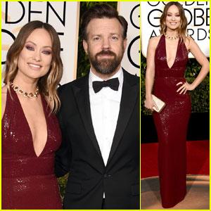 Olivia Wilde & Jason Sudeikis Make One Hot Duo at Golden Globes 2016