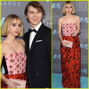 Paul Dano & Zoe Kazan Couple Up at the Critics' Choice Awards 2016