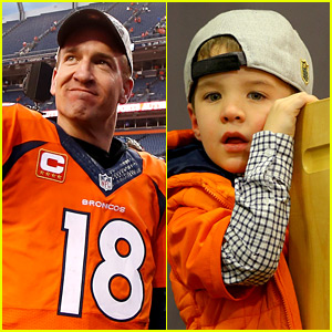 Peyton Manning's Son Marshall Stole the Show at His Championship Press Conference