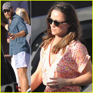 Pippa & James Middleton Grab Lunch & Play a Game of Tennis