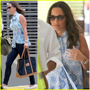 Pippa Middleton & Her Brother James Jet Out of St. Barts