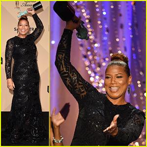 Queen Latifah Wins at SAG Awards 2016!