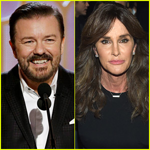Ricky Gervais Defends Caitlyn Jenner Joke at Golden Globes 2016 - Read the Tweets