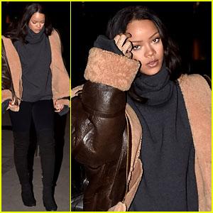 Rihanna & Leonardo DiCaprio Met Up in Paris as Friends