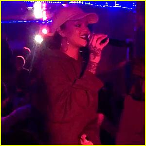 Rihanna Sings Impromptu Karaoke at Miguel's Wildheart Motel - Watch Now!
