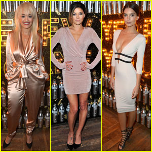 Rita Ora Celebrates Broken New Year's Resolutions With Jessica Szohr & Emily Ratajkowski