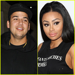Rob Kardashian & Blac Chyna Are Living Together (Report)