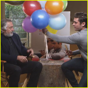 Robert De Niro Wishes Zac Efron's Girlfriend Sami Miro a 'Happy Birthday' in Hilarious Funny or Die Video!