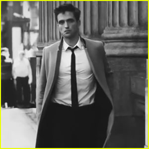 Robert Pattinson Smolders Throughout NYC in New 'Dior Homme' Intense City Campaign Video