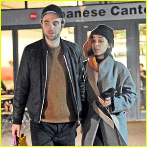 Robert Pattinson & FKA twigs Enjoy a Dinner Date Before NYE