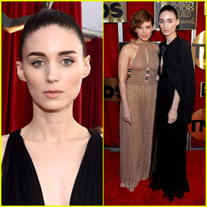 Rooney & Kate Mara Make it a Sister Date at SAG Awards 2016