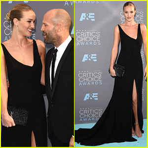 Rosie Huntington-Whiteley & Jason Statham Look So in Love at Critics' Choice Awards 2016