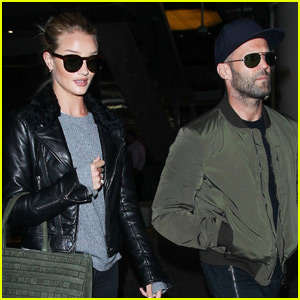 Rosie Huntington-Whiteley Talks Chores With Jason Statham