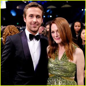 Ryan Gosling Skips the Carpet at SAG Awards 2016